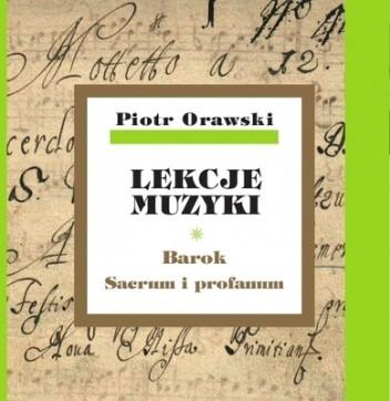 Okładka książki Lekcje muzyki. Barok. Sacrum i profanum