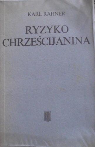 Okładka książki Ryzyko chrześcijanina