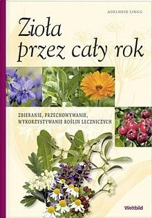 Okładka książki Zioła przez cały rok