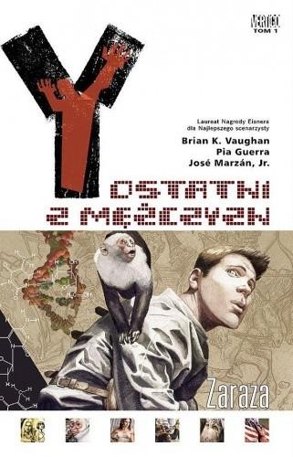 Okładka książki Y: Ostatni z mężczyzn - Zaraza