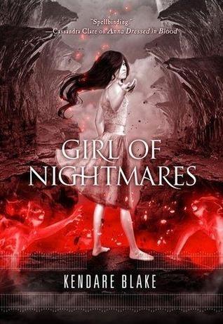 Okładka książki Girl of Nightmares