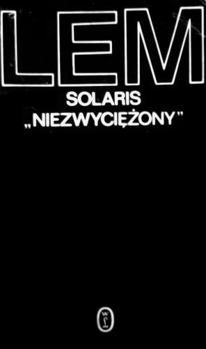 Okładka książki Solaris. Niezwyciężony