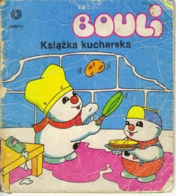 Okładka książki Bouli. Książka kucharska