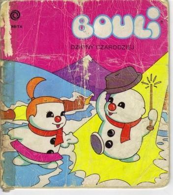 Okładka książki Bouli. Dziwny czarodziej