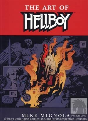 Okładka książki The Art of Hellboy
