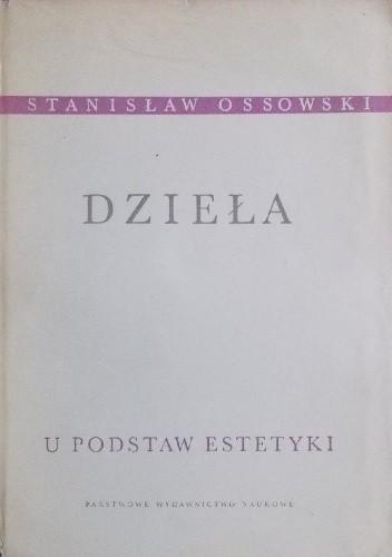 Okładka książki U podstaw estetyki