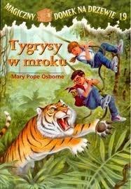 Okładka książki Tygrysy w mroku