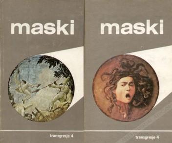 Okładka książki Maski (tom 1 i 2)