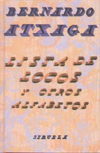 Okładka książki Lista de locos y otros alfabetos