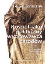 Okładka książki Kościół jako polityczny wychowawca narodów