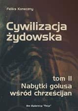 Okładka książki Cywilizacja Żydowska t. II