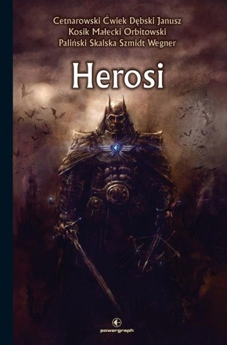 Okładka książki Herosi