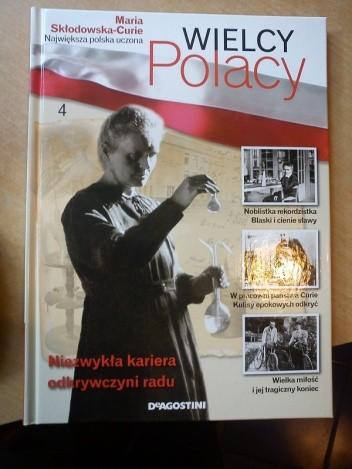 Okładka książki Maria Skłodowska-Curie