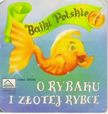 Okładka książki O rybaku i złotej rybce
