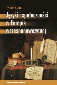 Okładka książki Języki i społeczności w Europie wczesnonowożytnej