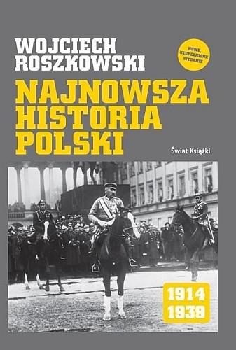 Okładka książki Najnowsza historia Polski 1914-1939