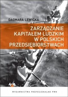 Okładka książki Zarządzanie kapitałem ludzkim w polskich przedsiębiorstwach