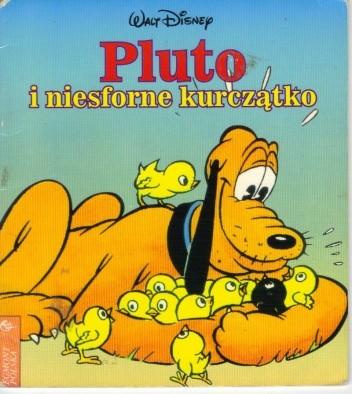 Okładka książki Pluto i niesforne kurczątko