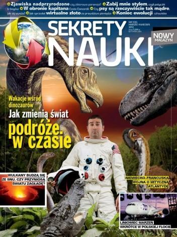 Okładka książki Sekrety Nauki (3/2012)