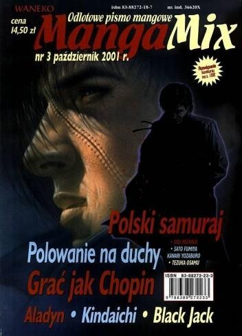 Okładka książki Mangamix nr. 3