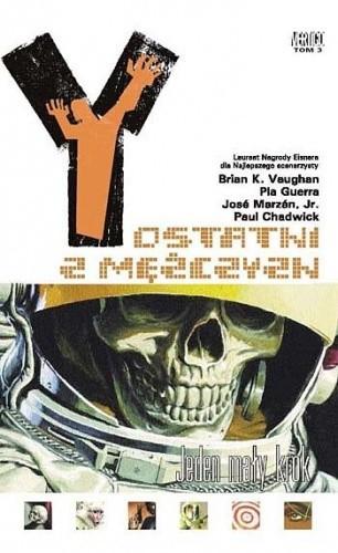 Okładka książki Y: Ostatni z mężczyzn - Jeden mały krok