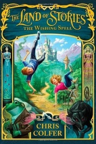 Okładka książki The Land of Stories: The Wishing Spell