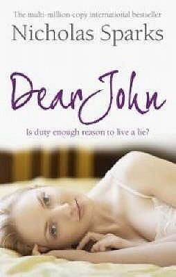 Okładka książki Dear John