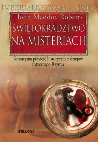 Okładka książki Świętokradztwo na misteriach