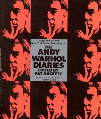 Okładka książki The Andy Warhol Diaries