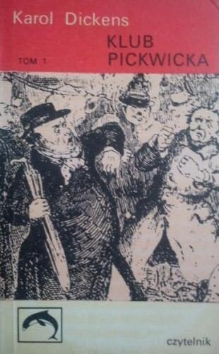 Okładka książki Klub Pickwicka tom 1