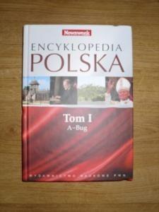 Okładka książki Encyklopedia Polska, tom 1, A-Bug