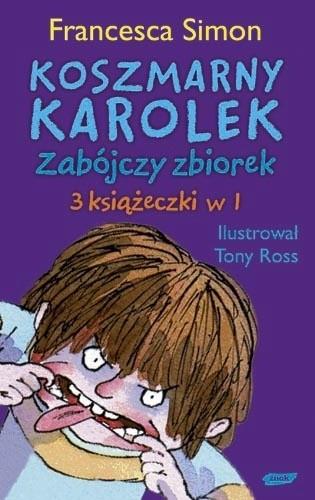 Okładka książki Koszmarny Karolek. Zabójczy Zbiorek