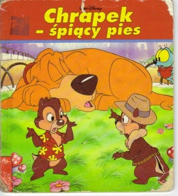 Okładka książki Chrapek - śpiący pies