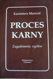 Okładka książki Proces karny. Zagadnienia ogólne.