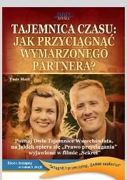 Okładka książki Tajemnica czasu. Jak przyciągnąć wymarzonego partnera?