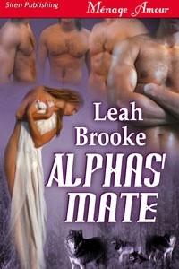 Okładka książki Alphas Mate