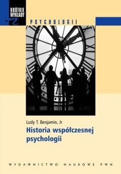 Okładka książki Historia współczesnej psychologii
