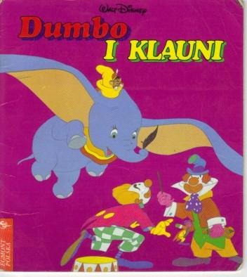 Okładka książki Dumbo i klauni
