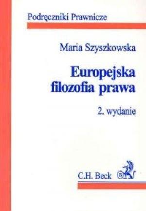 Okładka książki Europejska filozofia prawa