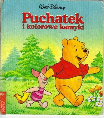 Okładka książki Puchatek i kolorowe kamyki