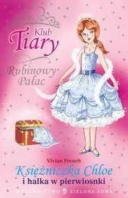 Okładka książki Księżniczka Chloe i halka w pierwiosnki