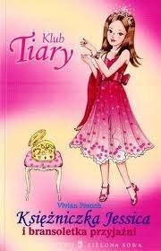 Okładka książki Księżniczka Jessica i bransoletka przyjaźni