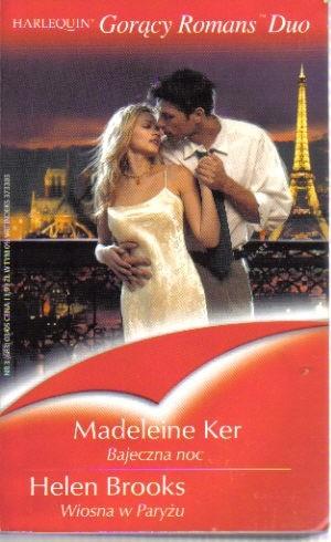 Okładka książki Bajeczna noc; Wiosna w Paryżu