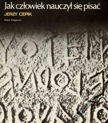 Okładka książki Jak człowiek nauczył się pisać