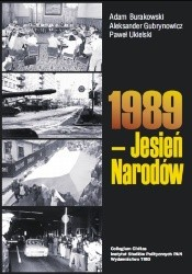 Okładka książki 1989 - Jesień Narodów