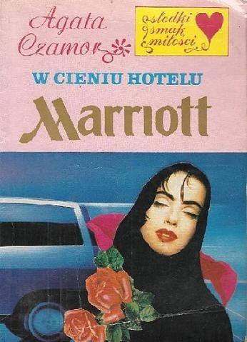 Okładka książki W cieniu hotelu Marriott