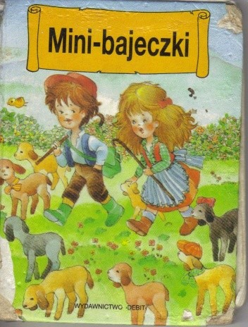 Okładka książki Mini-bajeczki (tom 4)