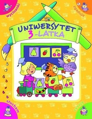 Okładka książki Uniwersytet 3-latka