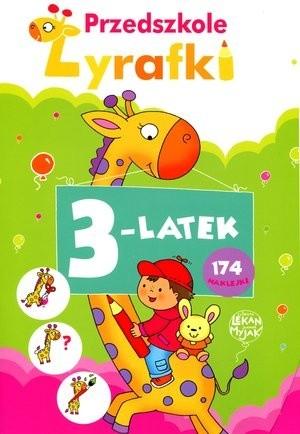 Okładka książki Przedszkole Żyrafki. 3-latek