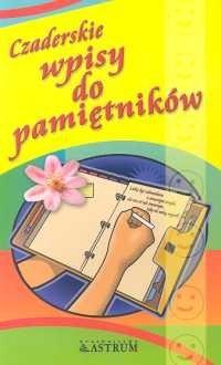 Okładka książki Czaderskie wpisy do pamiętników